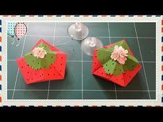 종이접기 커피향 주머니 팍종이art paper 종이공예 아동미술 Pencil vase 창작품Creative 무료강좌 origami - YouTube