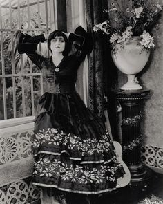 Theda Bara: You say I have the most wicked face of any woman. You say my hair is like the serpent locks of Medusa, that my eyes have the cruel cunning of Borgia, that my mouth is the mouth of the sinister scheming Delilah, that my hands are like the talons of a Circe or the blood-bathing Elizabeth Bathory. And then you ask me of my soul — you wish to know if it is reflected in my face.
