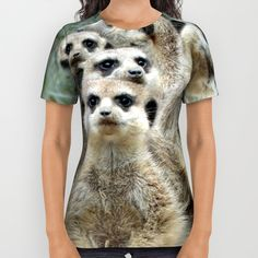 #Meerkat 002 #AllOverPrintShirt #Jamfoto #Society6.com - 34.00 $