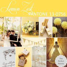 {Pantone Fashion Color Report}: Lemon Zest - PANTONE 13-0756 http://www.theperfectpalette.com/2012/10/pantone-fashion-color-report-spring-2013.html