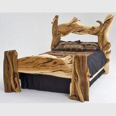 Juniper Slab Bed