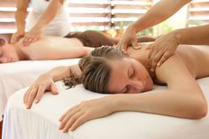 The Relationship Benefits of Couples Massage via @fashion_spot & @The Neon Blonde