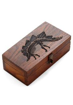 Object d'Artifact Keepsake Box - Brown, Print with Animals, Graduation, Top Rated