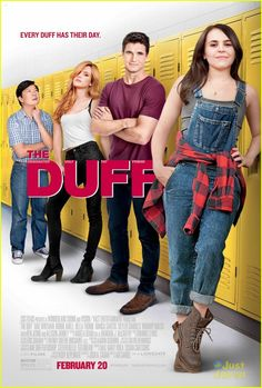 The Duff - IMDb - Directed by Ari Sandel. With Mae Whitman, Bella Thorne, Robbie Amell, Allison Janney. A high schoo - Teen Movies, Netflix Movies, Funny Movies, Comedy Movies, Series Movies, Great Movies, Movies Online, Family Movies, The Duff Movie