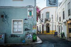Street scene, Lagos, Portugal