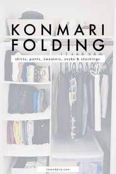 Ideas For Jewerly Organization Konmari Organisation Hacks, Clothing Organization, Dresser Organization, Small Closet Organization, Closet Storage, Declutter Your Home, Organizing Your Home, Organizing Wardrobe, Organising Tips