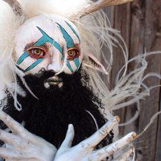 OOAK fairy pagan fantasy art doll by chrisandrescreations on Etsy