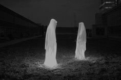 Ghosts for the yard