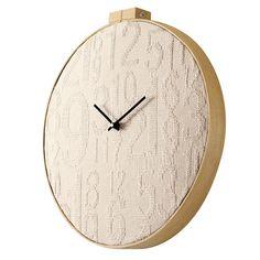 Stitch Clock Natural
