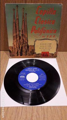 CAPILLA CLÁSICA POLIFÓNICA DEL F.A.D. EP / REGAL - 1958 / MBC. ***/***
