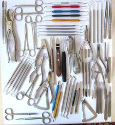 59 Teilen Set, Zahntechnik,Zahnlabor,Dental Instrumente,Qualität,Auktion Nr.12