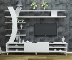 How and where to make a modern TV cabinet design? Modern Tv Cabinet, Modern Tv Wall Units, Tv Cabinet Design, Tv Wall Design, Tv Unit Furniture, Furniture Design, Tv Wanddekor, Tv Unit Decor, Living Room Tv Unit Designs