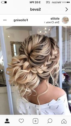 31 Best Trendy And Beautiful Twisted Rope Braid Blonde Hairstyle For Long Hair 💖 - Haircut 06 . 👧 ❤ ❤ ❤ ❤ ❤ ❤ ❤ ❤ ❤ ❤ Everythings About Gorgeous Twisted Rope Braid Hairstyle for You ! Long Hair Haircut, Prom Hairstyles For Long Hair, Prom Hair Updo, Bride Hairstyles, Hair Dos, Cool Hairstyles, Summer Hairstyles, Long Prom Hair, Hairstyles 2018