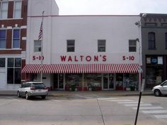 History In Pictures @HistoryInPics  The first Wal-Mart store was opened in 1962 by [a salesman] Sam Walton. It was called Walton's Five and Dime.