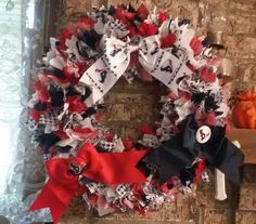 Houston Texans rag Wreath