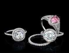 The Diamond Studio Fashion Jewelry, Women Jewelry, Heart Ring, Gems, Engagement Rings, Diamond, Fashion Women, Jewellery, Studio
