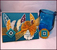 PPA252 Bohemian Feathers by kleinsong - Cards and Paper Crafts at Splitcoaststampers