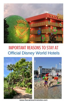 Planning a vacation to Disney World and wondering if you should stay at official Disney World hotels? There are several important reasons to stay at Disney World hotels on property, including hotels for every budget and convenience. Caribbean Beach Resort, Beach Club Resort, Beach Resorts, Hotels And Resorts, Disney Resort Hotels, Disney World Hotels, Walt Disney World, Disneyland Resort California, Disney World Tickets