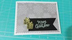 Mi primera tarjeta de Navidad 2015