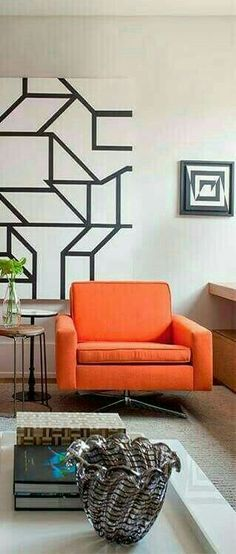 Orange Home Decor, Orange House, Orange County, Couch, Furniture, Settee, Sofa, Home Furnishings, Sofas