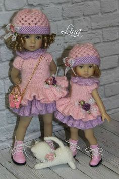 "Lina Lerua OUTFIT FOR DOLLS Dianna Effner10"" Boneka Doll"