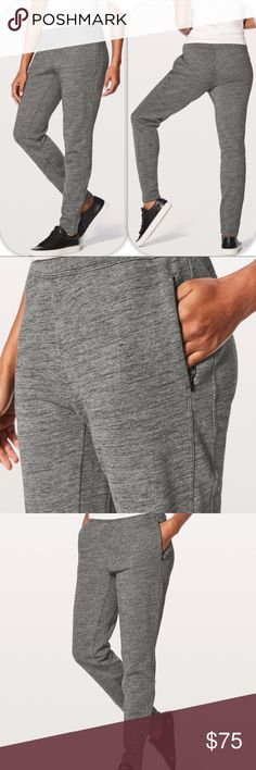 "NWT HCDG LULULEMON FREE TO ROAM JOGGER - - Size 8 Brand: Lululemon Athletica free to roam jogger              Condition: New with tag || Size 8 || heathered Core dark grey     inseam 30""  NO  TRADES  NO LOWBALL OFFERS  ⛔️NO RUDE COMMENTS  NO MODELING  ☀️Please don't discuss prices in the comment box. Make a reasonable offer and I'll either counter, accept or decline.   I will try to respond to all inquiries in a timely manner. Please check out the rest of my closet, I have various brands…"
