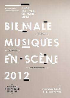 Biennale Musiques en scène, Lyon 2012
