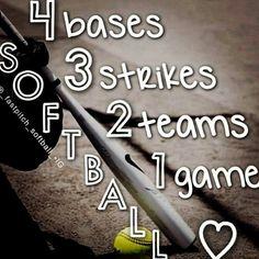 Softball ❤✌⚾