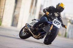 Yamaha DT-07 Flat Tracker - Jeff Palhegyi Design #riding #caferacer #motorcycles #motos | caferacerpasion.com
