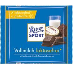 RITTER SPORT Vollmilch laktosefrei, glutenfrei