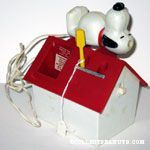 Snoopy Electric Toothbrushes - I loved this!