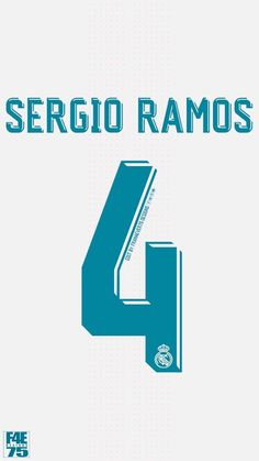 Sergio Ramos of Real Madrid wallpaper.
