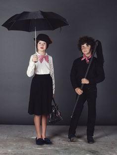 disfraz casero infantil ary poppins