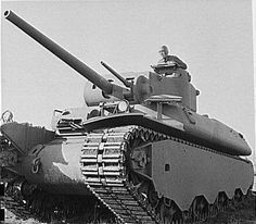 The Heavy Tank M6 was an American tank developed during World War II, only 40 of them were produced and never went into combat.
