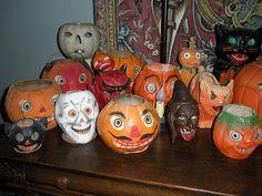 Wonderful Vintage Halloween Collection