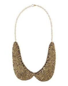 #colletto #peterpan #gold #necklace #fashion #accessories