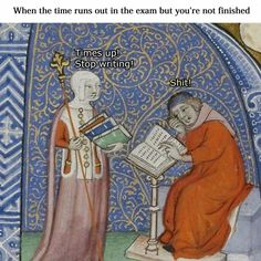 Art History Memes, Art History Lessons, Funny History, Medieval Memes, Classical Art Memes, Quality Memes, Funny Picture Quotes, Weird Art, Time Art