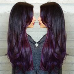 """Purple Velvet... By Butterfly Loft stylist Masey @masey.cheveux"""