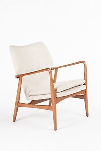 Finn Juhl Gladsaxe Arm Chair Hvilestol Beige | eBay