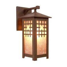Steel Partners San Marcos 1 Light Outdoor Wall Lantern Finish: Old Iron, Shade Type: Bungalow Green