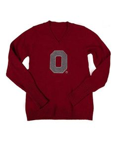 Ohio State Buckeyes Pullover Sweater - Women's