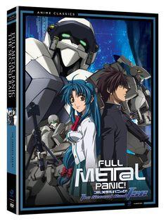 Full Metal Panic The Second Raid Complete Series DVD