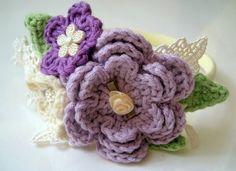 flower girl's headband