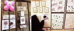 © Stephanie Desbenoit - illustratrice Expo Jema (Journées Européennes des Métiers d'Art) avril 2015 Le Zo rue de l'Agau Nîmes