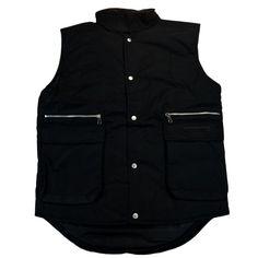 GianFranco Ferre GFF 014 Nero Black Sleeveless Jacket