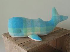 Blue baby whale from Australian wool blanket on Etsy 2019 Blue baby whale from Australian wool blanket on Etsy The post Blue baby whale from Australian wool blanket on Etsy 2019 appeared first on Wool Diy. Recycled Blankets, Recycled Sweaters, Wool Felt Fabric, Baby Whale, Blanket Coat, Vintage Blanket, Toy Craft, Handmade Baby, Handmade Toys