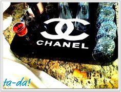 DIY Chanel Tray DIY Home DIY Accessories. Diy&crafts