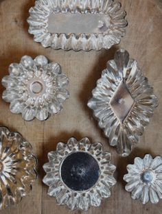 ~thrifty thursday~{ tart pan ornaments } - My Sweet Savannah...inspiration for sconce lighting!!!