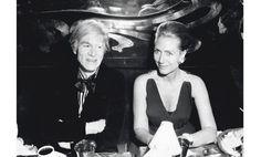 1970 - helene rochas & Andy Warhol