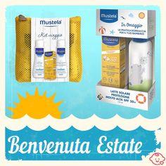 ☀️☀️☀️ Scopri i prodotti per l'#estate #Mustela in offerta a tempo su FarmaBimbi! Estate, Facial Tissue, Personal Care